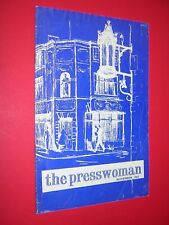 THE PRESSWOMAN. WOMAN'S PRESS CLUB OF LONDON. MAGAZINE. NOV 1965 no.100