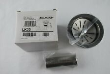 "Elkay LK35 3-1/2"" Drain Fitting with Stainless Steel Body Strainer"