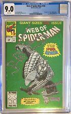 WEB OF SPIDER-MAN #100 Green Holo-Grafx Foil Variant CGC 9.0 Marvel Comic