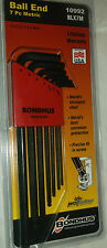 Bondhus blx7m 7 Piezas LONG BALL END HEX ALLEN KEY SET 10992