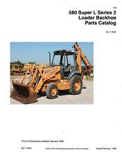 Case 580 Super L Series 2 Loader Backhoe Parts Catalog Bur 7 3350 580l