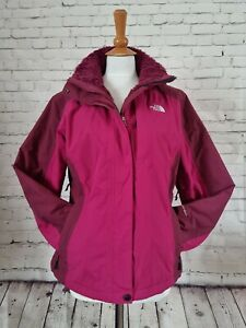THE NORTH FACE Womens Padded Hy-vent INLUX  Jacket Fleece Lined winter weight M