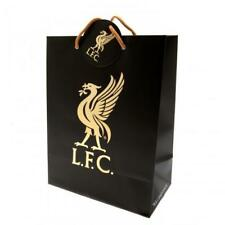 Liverpool FC Official Large Card Printed Crest Gift Bag with Tag