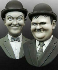 1/10 Resin Laurel And Hardy Comedians Figure Bust Unpainted Unassembled 4024