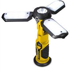 Stanley Sattelite 300-Lumens RECHARGEABLE LED WORK LIGHT FLASHLIGHT USB MAGNETIC