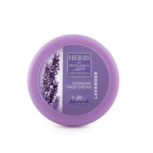 BioFresh HERBS OF BULGARIA Nourishing Face Cream Natural Lavender Oil 100 ml