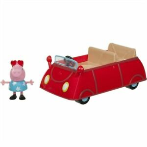 NEW Peppa Pig Little Red Car Toy Vehicle and Figure