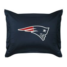 NEW ENGLAND PATRIOTS Jersey Standard Pillow Sham LR NEW