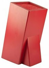 Taylor's Eye Witness Universal Knife Storage Block - Bristle Insert - RED - New