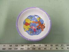 "Zak Designs Disney Winnie the Pooh Tigger Piglet Melamine Bowl 5.5"" Plastic"