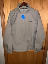 """NWT  Mens Columbia """"Mt Village"""" Water Wind Resistant Softshell Jacket XL"""