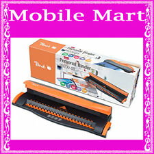 PEACH◉COMB BINDING MACHINE A4◉21 LOOP HOLE PUNCH BINDER◉BINDS 50 SHEETS◉PB200-09