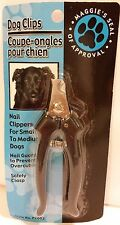 Dog Nail Clippers Stainless Steel, Small to Medium Dogs w/ Guard & Safety Clasp