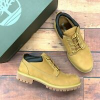 Timberland Men's Classic Waterproof Leather Wheat Oxford Boots 73538