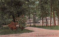 Postcard Auditorium West View Winona Lake IN