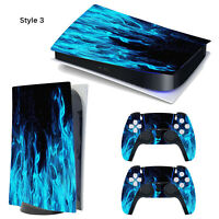 PVC Decal Aufkleber für Sony PS5 PlayStation 5 PS5 Disc Digital Edition Konsole