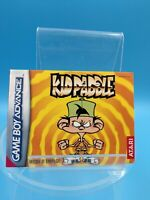 jeu video notice BE nintendo gameboy advance FRA kidpaddle
