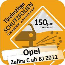 Opel Zafira -C- Porte Portière Seuil Voiture Protection Film de