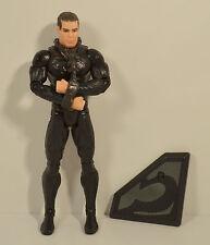 "2013 General Zod in Shackles 6.5"" Mattel Movie Action Figure DC Comics Superman"