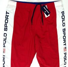 Polo Sport Ralph Lauren Freestyle Track pants Red White Blue USA Flag ALL SIZES