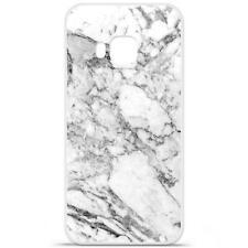 Coque Housse à motif HTC One M9 Produit qualité française - Marbre blanc