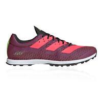 adidas Womens Adizero XCS Cross Country Running Spikes Traction Purple Sports