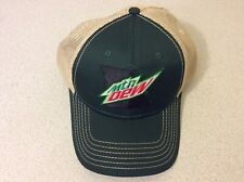Missouri MO Mountain Dew Nation Rewards Hat Green and Tan New