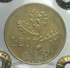 Repubblica Italiana - 20 Lire Ramo di Quercia dal 1956 al 2001 da BB a FDC ECZ