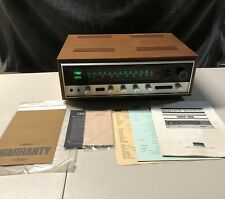 Gorgeous Sansui 4000 Solid State Stereo Receiver W/ Wood Case + All Paperwork