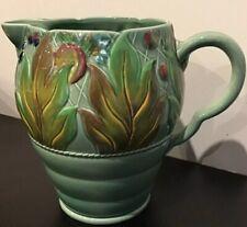 1930's Clarice Cliff, Newport Pottery, Art Deco, Celtic Leaf & Berry Design, Jug