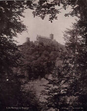 1895 ALBUMEN PHOTO OF BEAUTIFUL GERMAN CASTLE