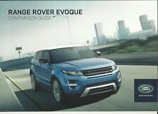 RANGE ROVER EVOQUE/ EVOQUE COUPE MODELS PRICE BROCHURE JANUARY 2013