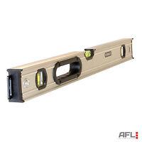 "Stanley Fatmax 0-43-624 Pro Box Beam 3 Vial Spirit Level 60cm/600mm/24"""