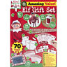 NEW NAUGHTY ELF GIFT SET 70PC KIDS ACTIVITY XMAS GIFT TOY FAMILY FUN PARTY