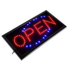 LED Schild Display Leuchtreklame Werbung Sign Neon Geöffnet Bar Open Reklame DHL