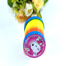 1x Rainbow Coloured Spring Slinky Childrens Toy Springs Bouncy Toy For Party UK