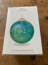 New ListingHallmark Keepsake Ornament 2018 Christmas Commemorative Glass Ball 6th #6 Series