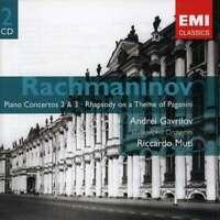 Andrei Gavrilov/riccardo Muti - Rachmaninov: Piano Concertos 2 NEW CD