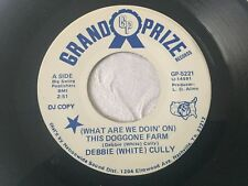DEBBIE (WHITE) CULLY WHAT ARE WE DOIN ON THIS DOGGONE FARM GRAND PRIZE RECORDS