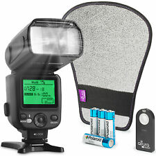 Altura Photo AP-UNV2 Bundle DSLR and Mirrorless Camera Flash Speedlite