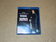 OUT FOR JUSTICE, BLU-RAY, STEVEN SEAGAL, EXCELLENT CONDITION