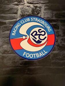 Enseigne Plaque Décorative Logo Club Football RACING CLUB DE STRASBOURG