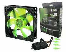 Gelid FN-FW09-20 Wing9 92mm 2000RPM 22.5dBa Silent Computer Case Fan