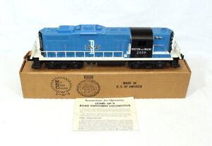 Postwar Lionel 2359 Boston & Maine GP-9 Diesel Locomotive~w/Nice OB & Inst.