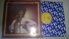 LP Pop Betty Wright - Live (7 Song) ALSTON / TK PRODUCTIONS Cut-Out -