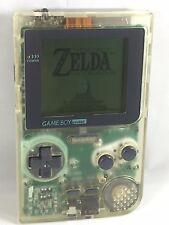 *RESTORED* Nintendo Game Boy Pocket Console System Clear Transparent RARE