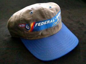 NHRA Official Federal Mogul Drag Racing Series embroidered adjustable ball cap