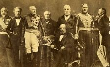 Maréchaux de France Marshalls of Second Empire Photomontage Old Photo 1870