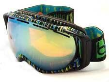 BOLLE GRAVITY premium Snowboard Ski Goggles Tiki / Citrus Gold Mirror 20641