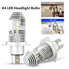 2X H4/9003/HB2 LED Headlight Bulbs 6000K Bright White Hi/Lo Beam Headlamp Part